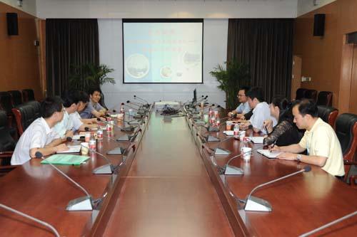 天津市委科技工委陈巧林副书记一行莅临二十所考察
