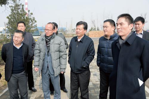 复星集团董事长郭广昌来我区考察