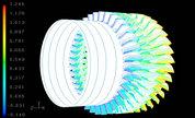旋转式动力设备流场分析