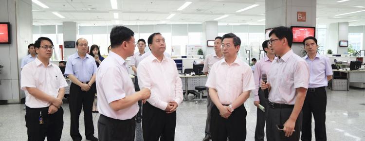 中央改革办专职副主任陈一新一行到访大市场
