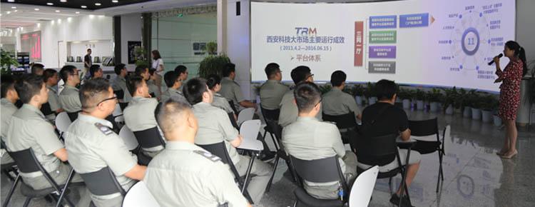 西安高新区国土规划建设执法监察队来访