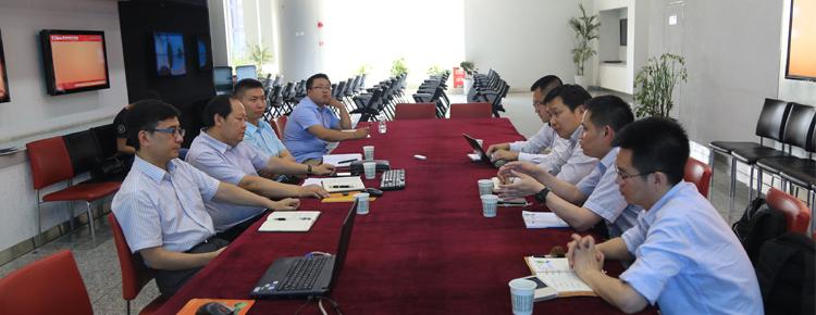 华为企业BG西安业务部到访大市场