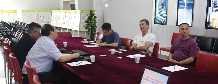 陕西军民融合商会筹备委员会一行到访大市场